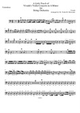 A Little Touch of Vivaldi's Violin Concerto in A Minor for String Orchestra - Contrabass